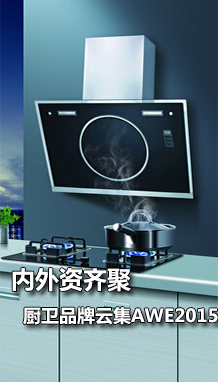 内外资企业齐聚 厨卫品牌云集AWE2015
