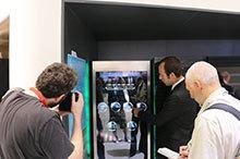 海尔透明门冰箱亮相IFA