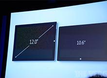 12英寸的显示屏