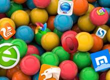 业内竞相争宠一年 2014安卓浏览器横评