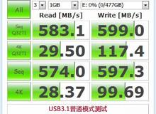 USB3.1普通模式测试