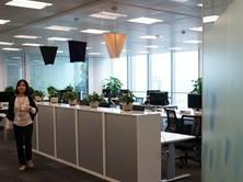 微软广州办公室整洁典雅