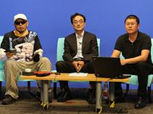 张晖先生、炳叔以及主持人