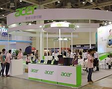 Acer众多新品亮相展台