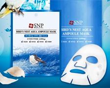 SNP燕窝补水面膜10片