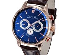 男士皮带计时手表