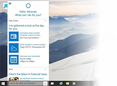 Cortana语音助手