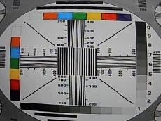 大华成像700线 灰阶显示1~9级