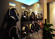 2014广州音响展 森海各类耳机亮相展会
