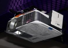 明基W1075亮相国际音响展