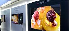 LG展示98英寸8K电视