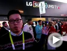 LG SUPER UHD 电视展示区综述