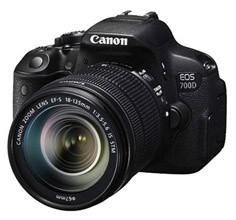 佳能 数码单反相机 EOS 700D KIT