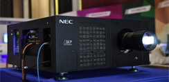 NEC纯色激光投影