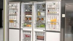 一体化厨房 冰箱隐身术惊现西门子展台