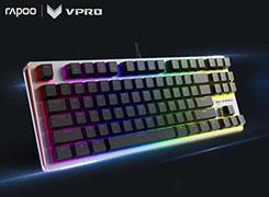 雷柏V500 RGB幻彩机械键盘