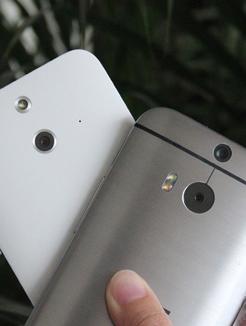 HTC One M8/时尚版对比
