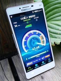 酷派8732 4G网络体验