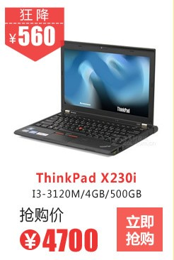 ThinkPad X230i(23066RC)