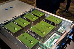 竟价83万 NVIDIA展出超强计算机
