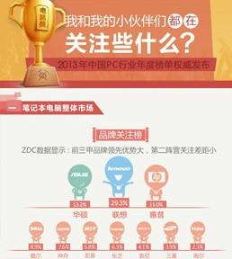 2013年PC行业年度排行榜