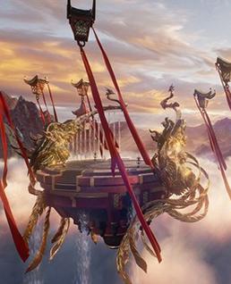虚幻引擎4单机新作《九凤RPG》画面首曝