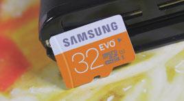 一卡多用 三星EVO 32GB TF卡应用体验