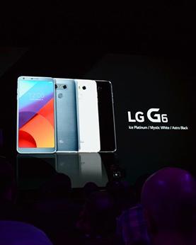 LG G6创新18:9屏幕IP68加双摄