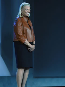 罗睿兰 IBM CEO