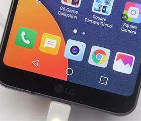 全新屏幕比例配置升级 LG G6上手图赏