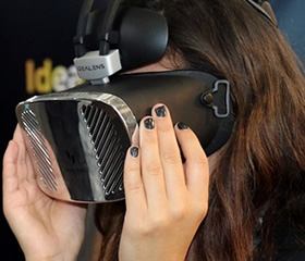 IDEALENS VR一体机现场体验
