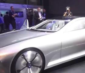奔驰空气动力智能概念车