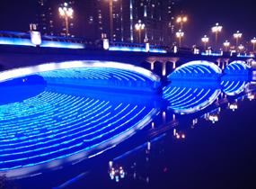 《蓝色桥洞》