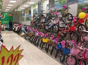 《自行车店》