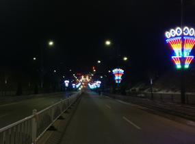 《夜景街道》