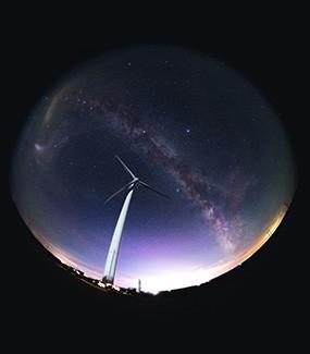 璀璨星空 记录北半球最后的银河核心