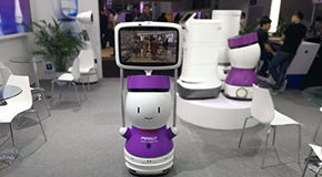 商场领路人 智能导购机器人PEANUT图赏