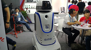 移动小警车 GUOZI安防智能机器人图赏