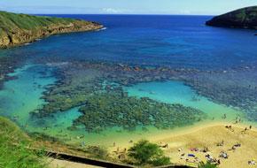 夏威夷海岛风景