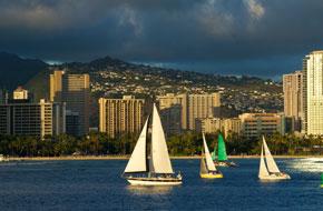 美不胜收的夏威夷