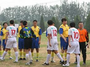 中关村在线参加网协足球赛