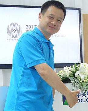 LIFAair 张文东:超大容尘量新风一年不用换滤网