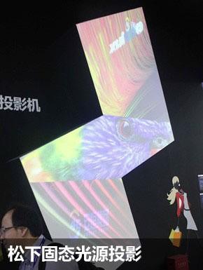 上海数字标牌展:松下力推等离子监视器