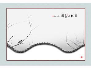 二等奖:《别枝小鸟图》 作者:金兰