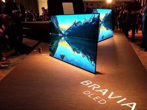 <b>8</b>索尼4K OLED电视新品