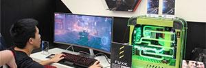 CJ视频直击 三星展示最强游戏存储设备