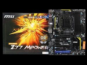 微星Z77 MPower全貌