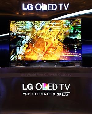 LG曲面OLED新品电视发布