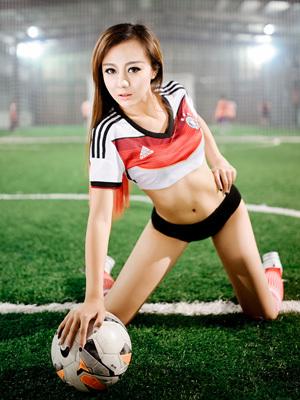 足球宝贝 大家都爱