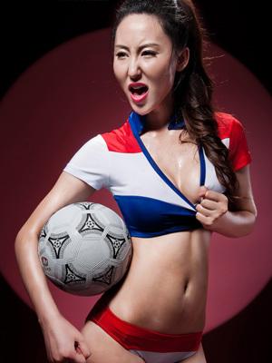 激情-性感-汗水 性感足球宝贝火热世界杯